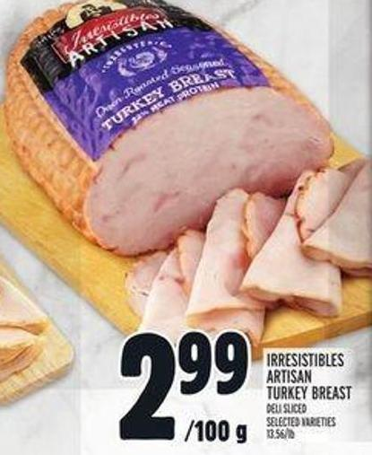 Irresistibles Artisan Turkey Breast
