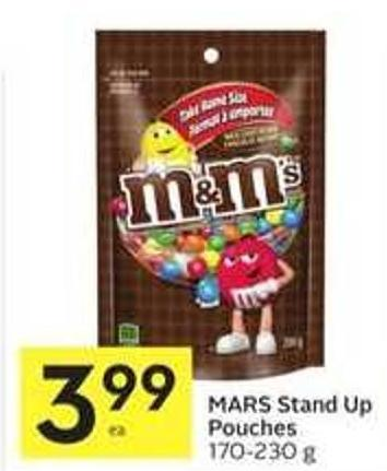 Mars Stand Up Pouches