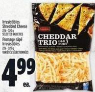 Irresistibles Shredded Cheese