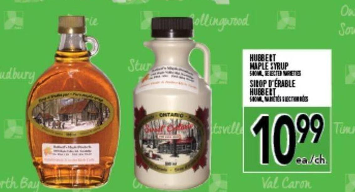 Hubbert Maple Syrup