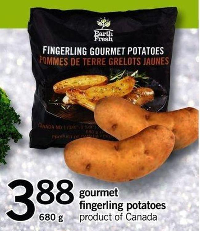 Gourmet Fingerling Potatoes - 680 G