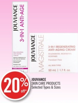 Jouviance Skin Care Products
