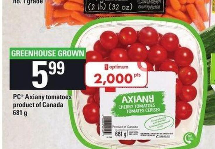 PC Axiany Tomatoes - 681 g