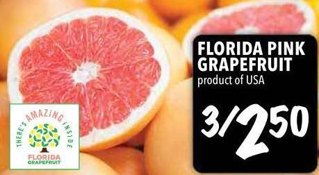 Florida Pink Grapefruit