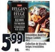 Irresistibles Assorted Belgian Cookies 400 g
