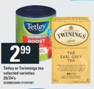 Tetley Or Twinnings Tea 20/24's