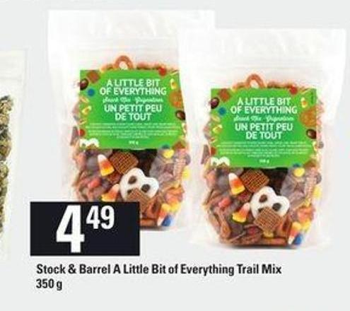 Stock & Barrel A Little Bit Of Everything Trail Mix - 350 g