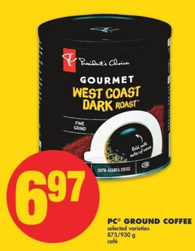 PC Ground Coffee - 875/930 g