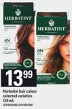 Herbatint Hair Colour - 135 mL