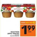Selection Apple Snacks