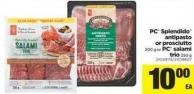 PC Splendido Antipasto Or Prosciutto 200 G Or PC Salami Trio 250 G