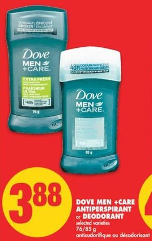 Dove Men +Care Antiperspirant or Deodorant - 76/85 g