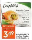 Compliments Stuffed Chicken Cutlettes 284 g