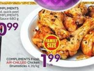 Compliments Fresh Chicken Drumsticks