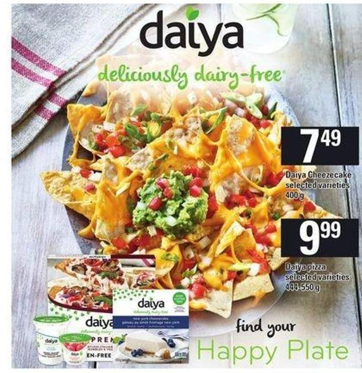 Daiya Pizza - 444-550 g