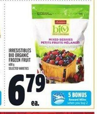 Irresistibles Bio Organic Frozen Fruit