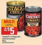 Campbell's Or Stagg Chili - 425 g