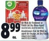 Air Wick Air Freshener Or Finish Jet Dry Rinse Agent