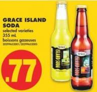 Grace Island Soda - 355 mL
