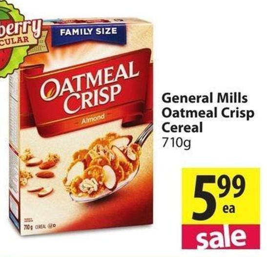 Apple raisin crisp cereal