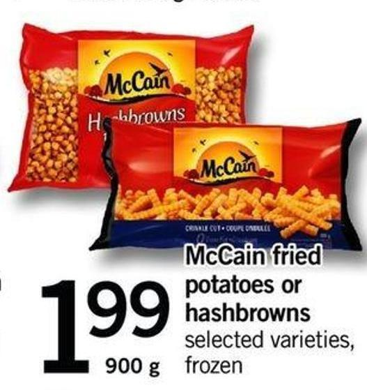 Mccain Fried Potatoes Or Hashbrowns - 900 G