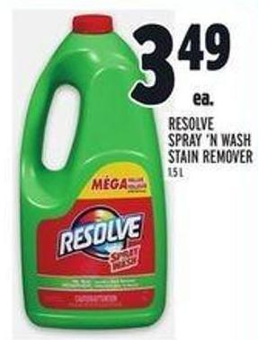 Resolve Spray 'N Wash Stain Remover