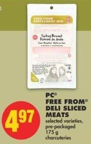 PC Free From Deli Sliced Meats - 175 G