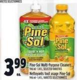 Pine-sol Multi-purpose Cleaners