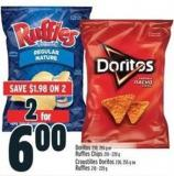 Doritos 230 - 255 G Or Ruffles Chips 210 - 220 G