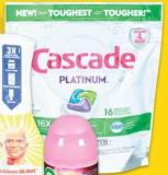 Cascade Dishwasher PODS - 16-25's