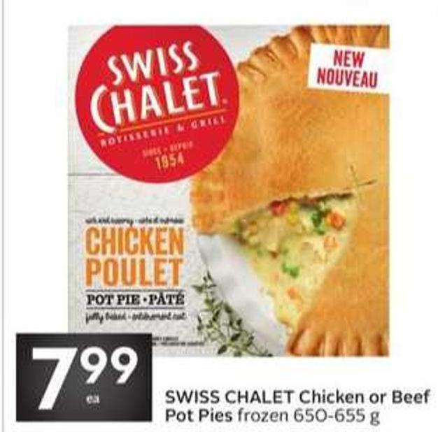 Swiss Chalet Chicken or Beef Pot Pies