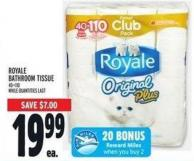 Royale Bathroom Tissue 40=110