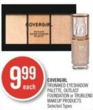 Covergirl Trunaked Eyeshadow Palette - Outlast Foundation or Trublend Makeup Products