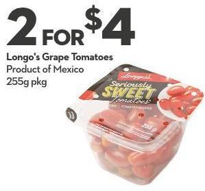 Longo's Grape Tomatoes