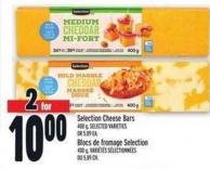 Selection Cheese Bars 400 g