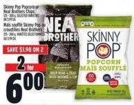 Kinny Pop Popcorn Or Neal Brothers Chips