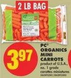 PC Organics Mini Carrots - 2 Lb Bag