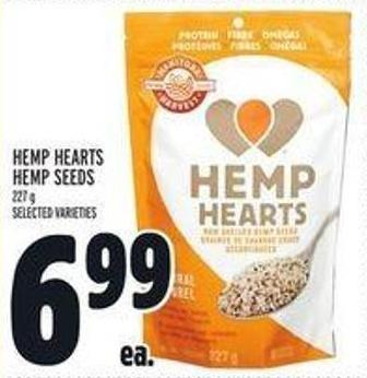 Hemp Hearts Hemp Seeds