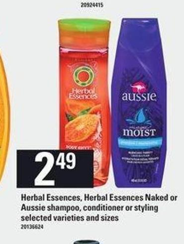 Herbal Essences - Herbal Essences Naked Or Aussie Shampoo - Conditioner Or Styling