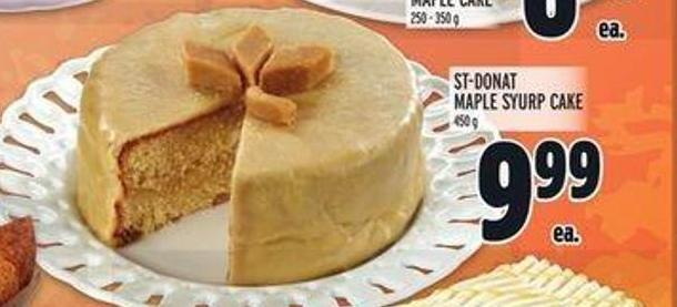 St-donat Maple Syurp Cake