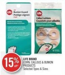 Life Brand Corn - Callous & Bunion Products