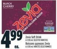 Zevia Soft Drink 6 X 355 ml