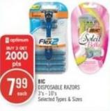 Bic Disposable Razors 3's - 10's