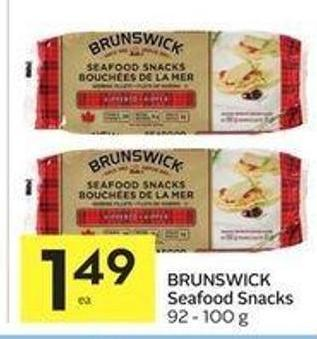 Brunswick Seafood Snacks