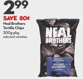 Neal Brothers  Tortilla Chips 300g Pkg