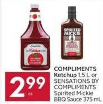 Compliments Ketchup
