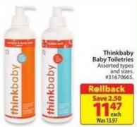 Thinkbaby Baby Toiletries