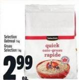 Selection Oatmeal