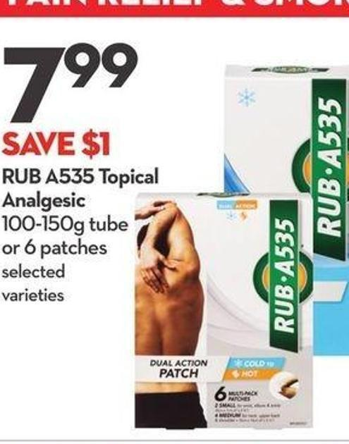 Rub A535 Topical Analgesic