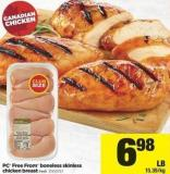 PC Free From Boneless Skinless Chicken Breast